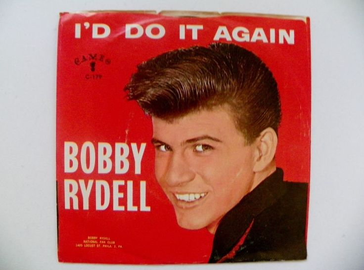 BOBBY RYDELL 45 RPM PS VOLARE~I'D DO IT AGAIN CAMEO RECORDS C179 NM 1960 #RocknRoll