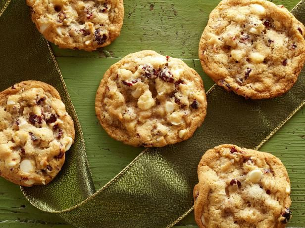 Day 1 of #12DaysOfCookies: @Trisha Yearwood's White Chocolate Cranberry Cookies