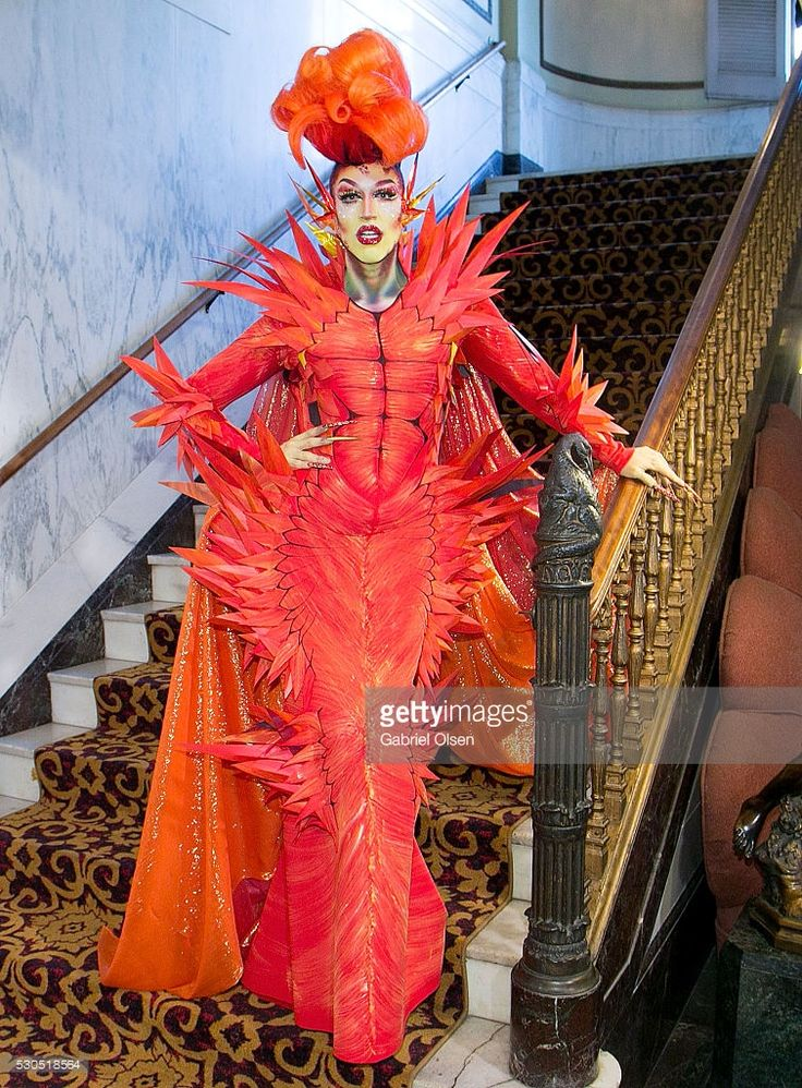 Acid Betty attends the Finale Of Logo's 'Rupaul's Drag Race' Season 8 at The Orpheum Theatre on May 10, 2016 in Los Angeles, California.