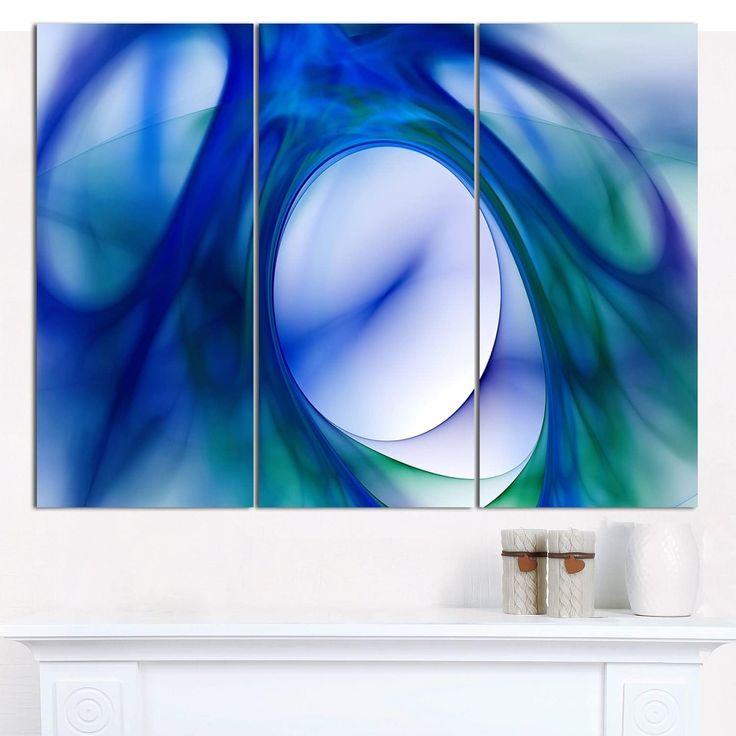 Designart U0027Mystic Fractal Wallpaperu0027 Abstract Wall Art Canvas ...