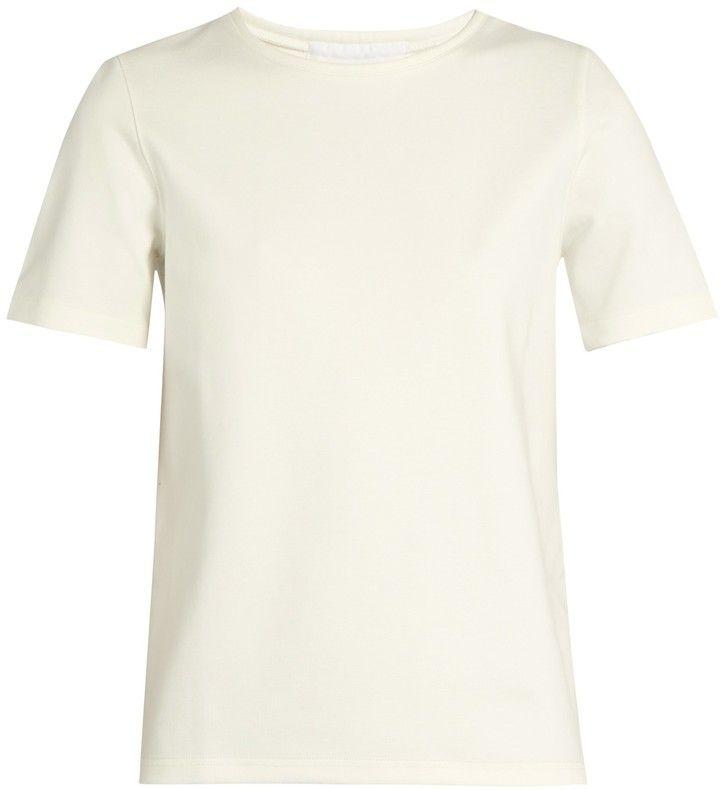 LEMAIRE Short-sleeved jersey T-shirt