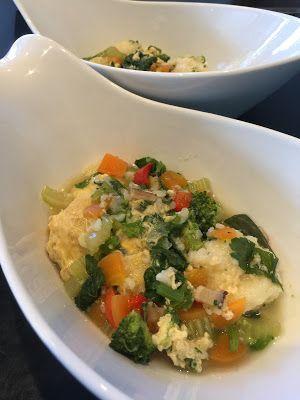 お犬様のお茶目なごはん: 魚野菜スープ