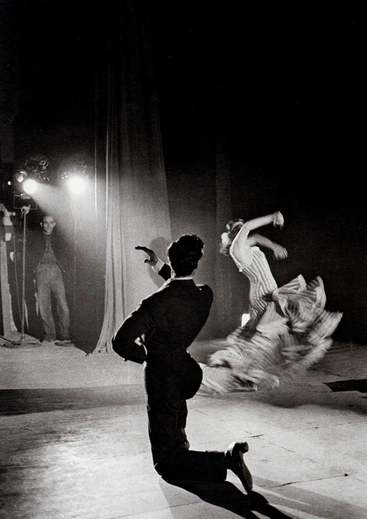 Man Ray, Flamenco Dancers, 1957