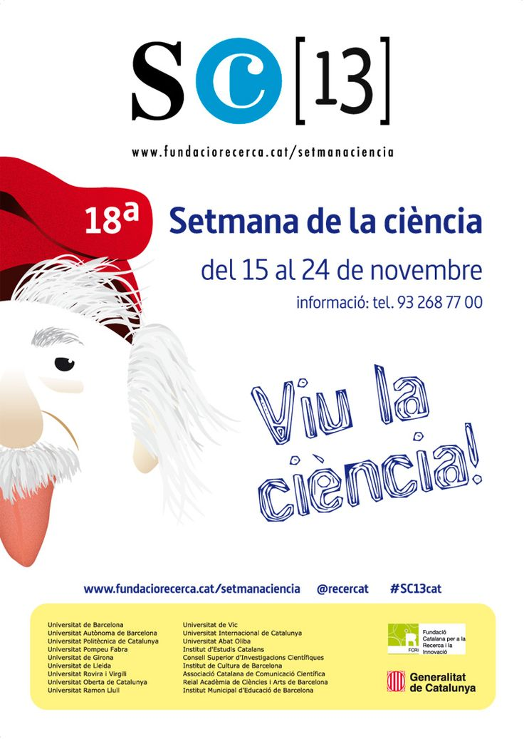 "My proposal for the contest ""18 setmana de la Ciència"" (18th science week)."