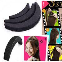 Piccante! 3Pcs donne Hair Fashion Styling della clip del bastone del creatore del panino attrezzo della treccia Accessori per capelli