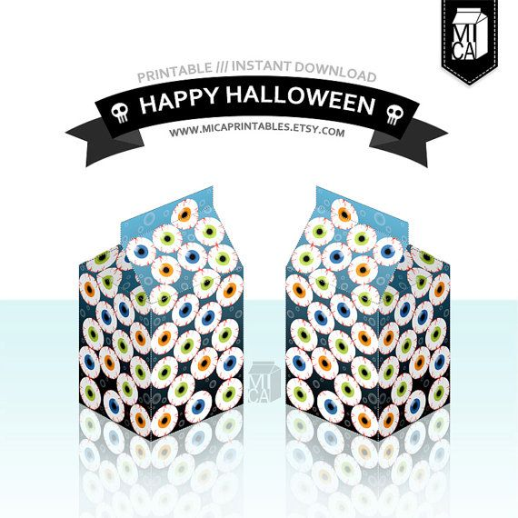 #Halloween #Printables #Party #Favor #Decoration #Eyeballs by MicaPrintables