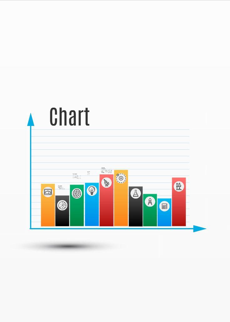 Prezi template simple bar graph on the 3D background http://preziland.com/