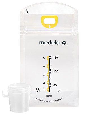 Medela Pump & Save Breastmilk Storage Bags - 50 count