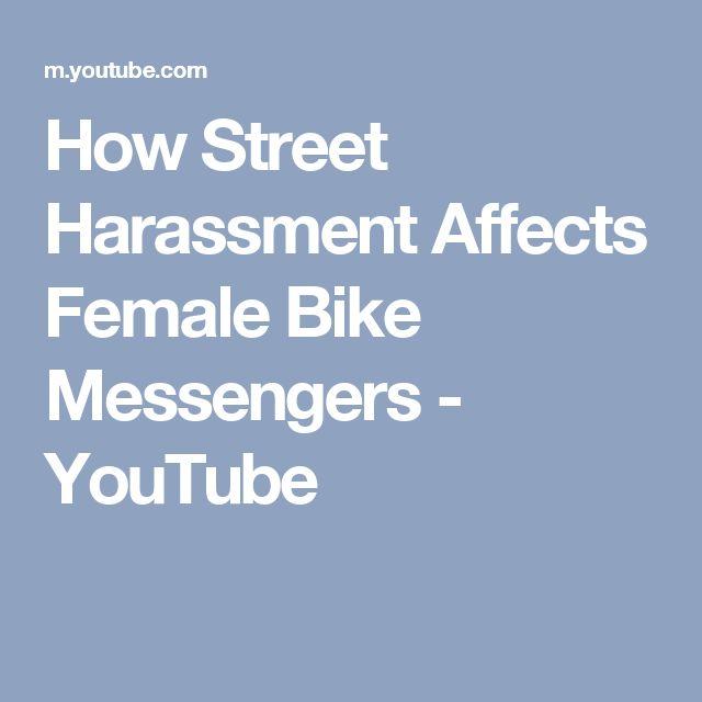 How Street Harassment Affects Female Bike Messengers - YouTube