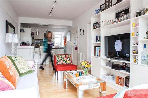 Solución 379: ideas para decorar un living-comedor angosto - Living - ESPACIO LIVING