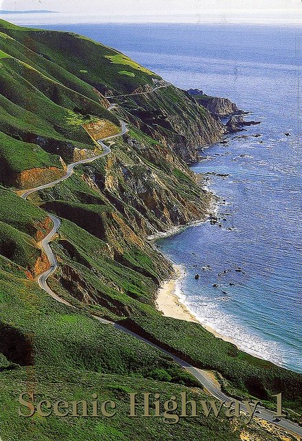 Scenic Highway 1 California By Jordipostales Shot From