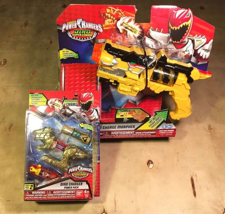 Power Rangers Dino Charge Morpher & Dino Supercharge Power Pack HTF CHARGERS!    eBay