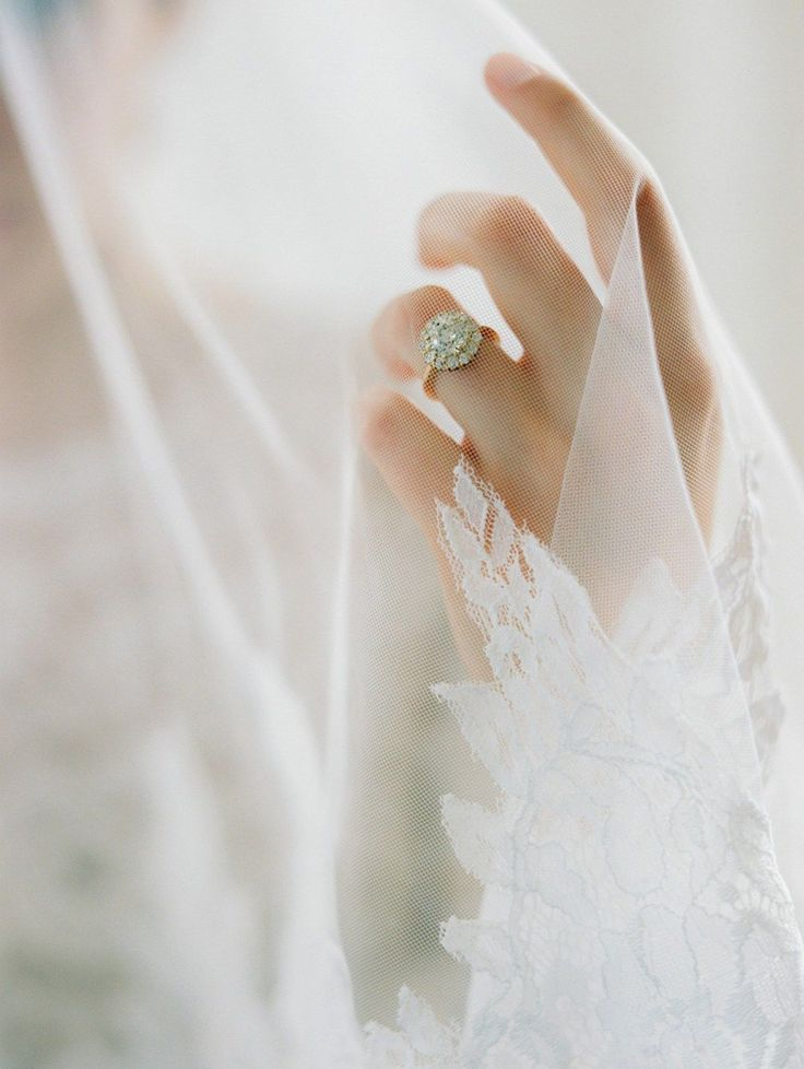Diamante ring by La Belle – traditional, up to date, nice artwork and romantic handmad