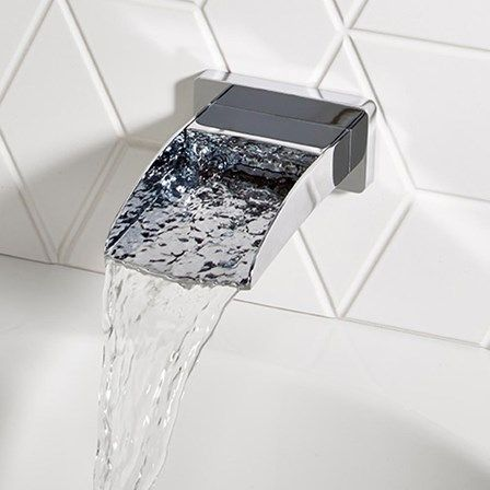 This Waterfall Tap Is Surprisingly Affordable And Very On Trend