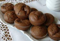 Nutellás csokis muffin