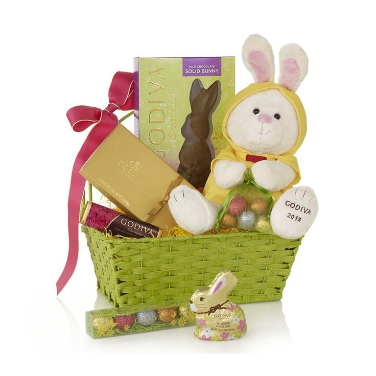 56 best our easter delights images on pinterest chocolate gifts make your spring gift baskets even more special with easter goodies from godiva discover our bunny delights gift basket featuring a plush bunny and an negle Image collections