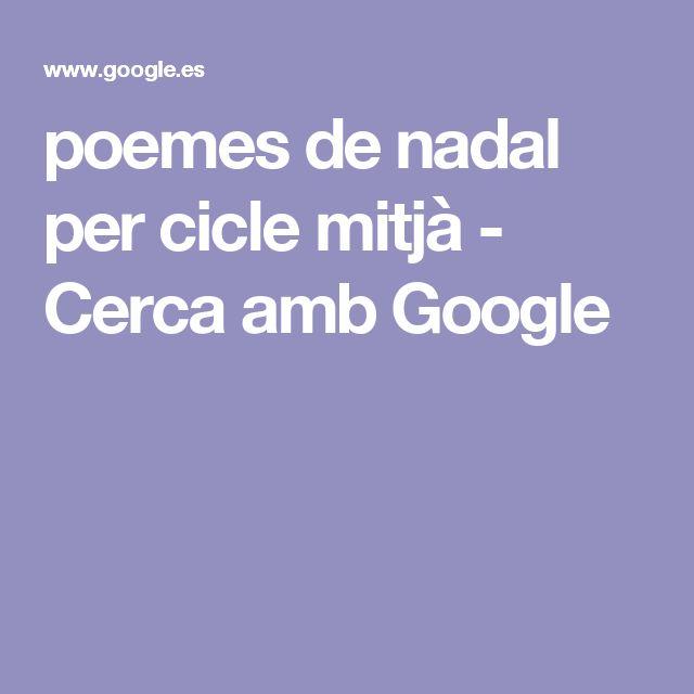 poemes de nadal per cicle mitjà - Cerca amb Google