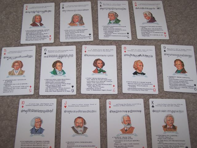 Go Fish Cards for Music Composers