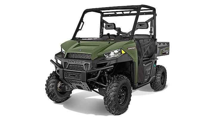 New 2017 Polaris Ranger® Diesel ATVs For Sale in New Jersey.