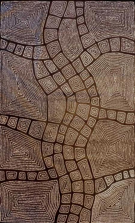 Aboriginal Art Galleries - Thomas Tjapaltjarri - Artwork-Detail