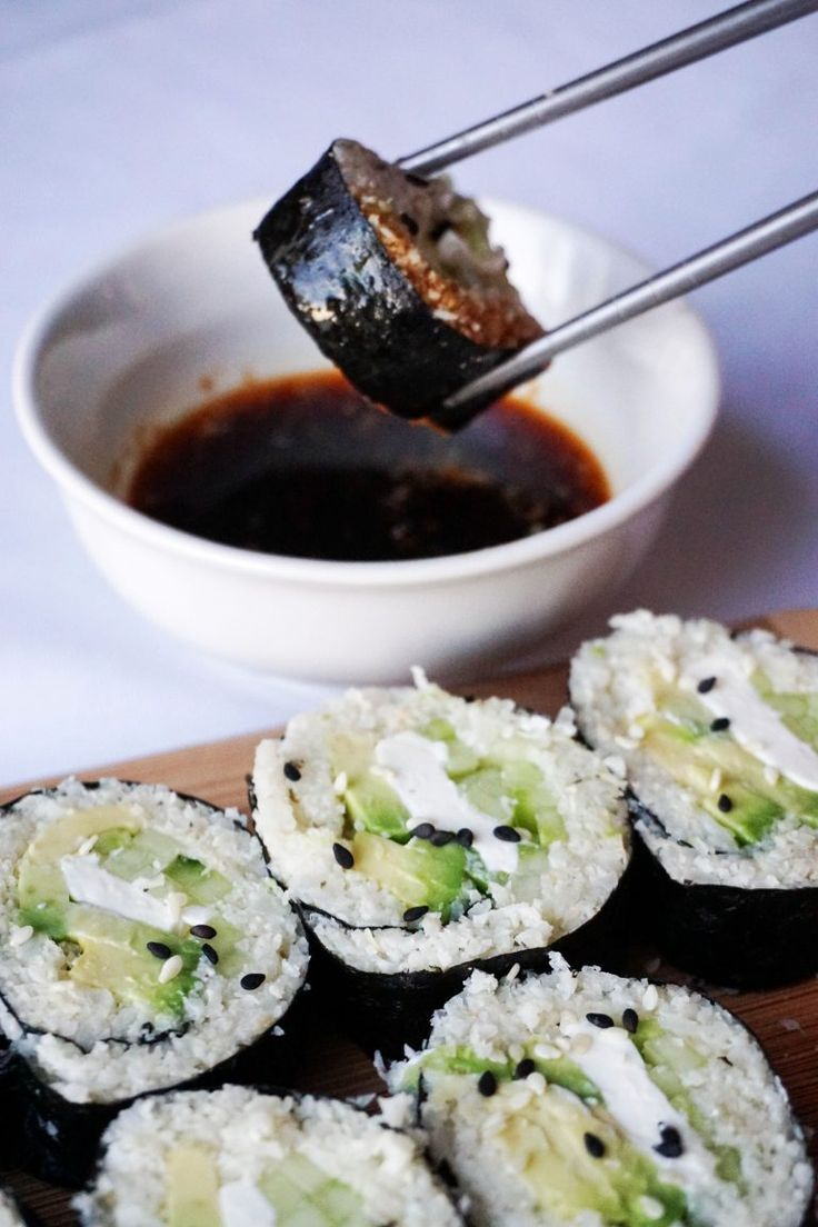 Keto Sushi.  Read the comments for variations and tips.