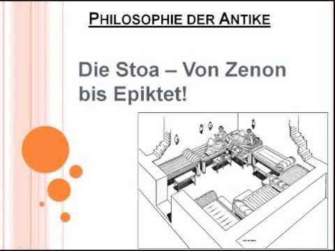 ▶ Die Stoa - Von Zenon bis Epiktet! - YouTube