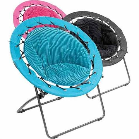 black pink or turquoise bungee chair dorm decorations teen rooms - Dorm Room Chairs
