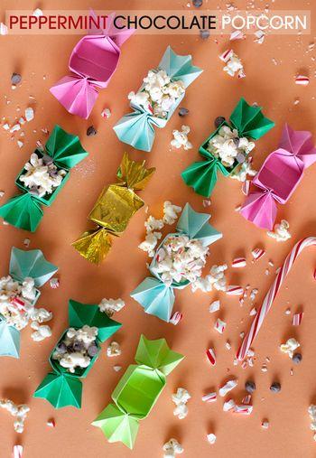 キャンディの形をした、とっても可愛いお菓子箱。パーティのときや、子どものおやつの時間にも役立ちそう!