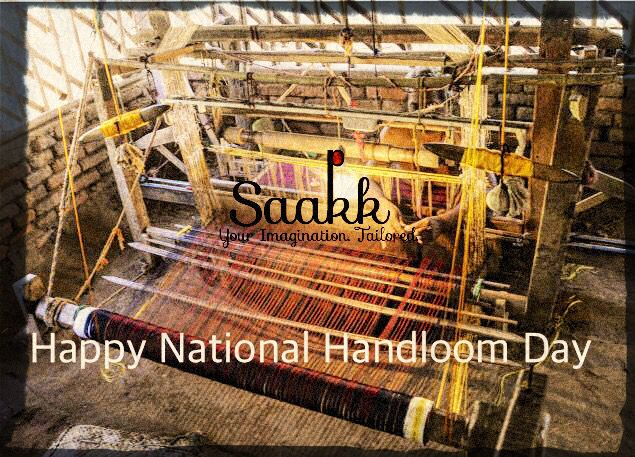 Handloom can be a tool to fight poverty, just as swadeshi movement was a tool in the struggle for freedom. NARENDRA MODIJI #nationalhandloomday #fightpoverty #handloom #struggle #narendramodi #primeminister #pm #handwoven #handmade #handcrafted #saakk #saakkbysakshi #saakkyourimaginationtailored