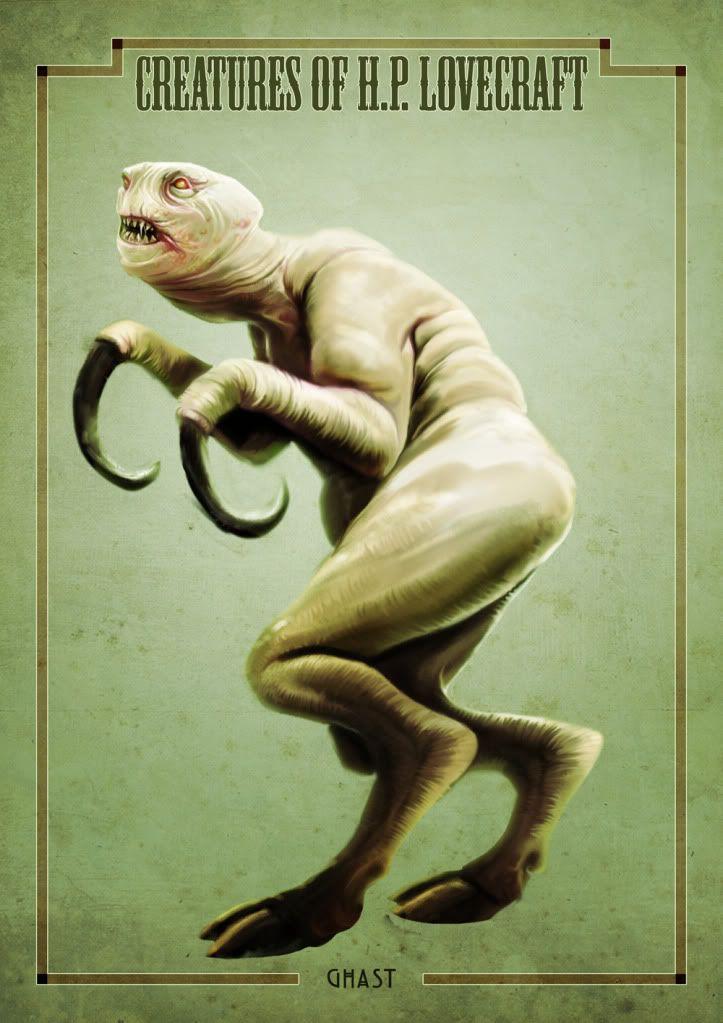 H.P. Lovecraft - Ghast (the creature) | undead | Pinterest