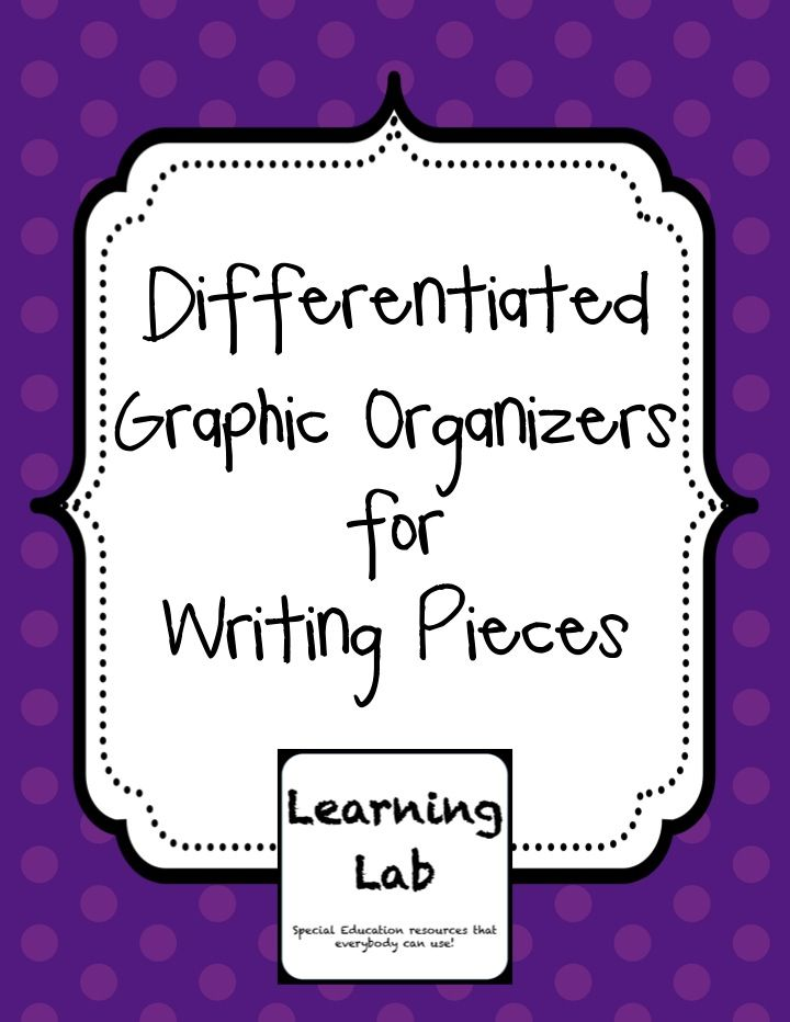 advanced organizers and differentiated learning essay Writing instruction can be differentiated to learning profile: choice boards are organizers access center (2004) differentiated instruction for writing.