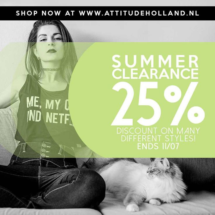 Hello summer clearance ☀️ It's time to upgrade your wardrobe with some Attitude! Shop now: www.attitudeholland.nl