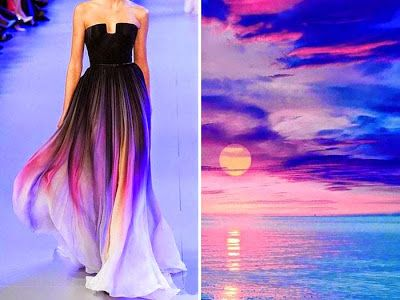 Fashion Inspired By Nature In Diptychs By Liliya Hudyakova
