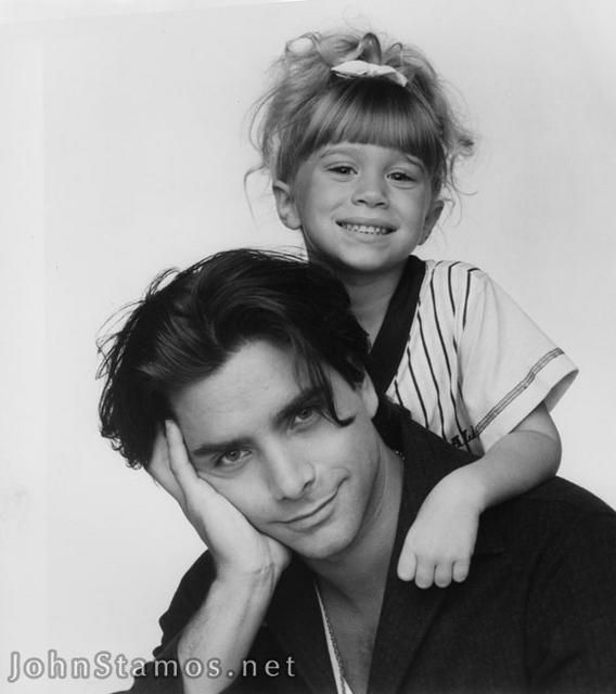 Uncle Jesse and Michelle - full-house Photo