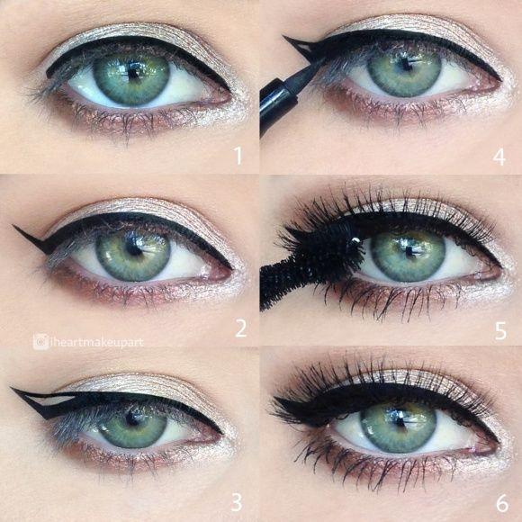 Easy Eyeliner Pictorial – Idea Gallery - Makeup Geek