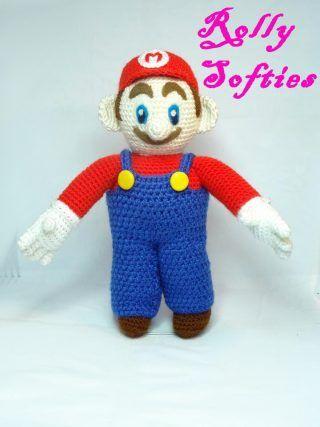 Baby Mario Amigurumi : 17 Best images about Crochet Amigurumi Free Pattern on ...