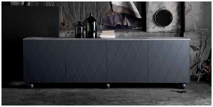 SUPERFRONT - THUNDER GREY - fronts for IKEA cabinets.