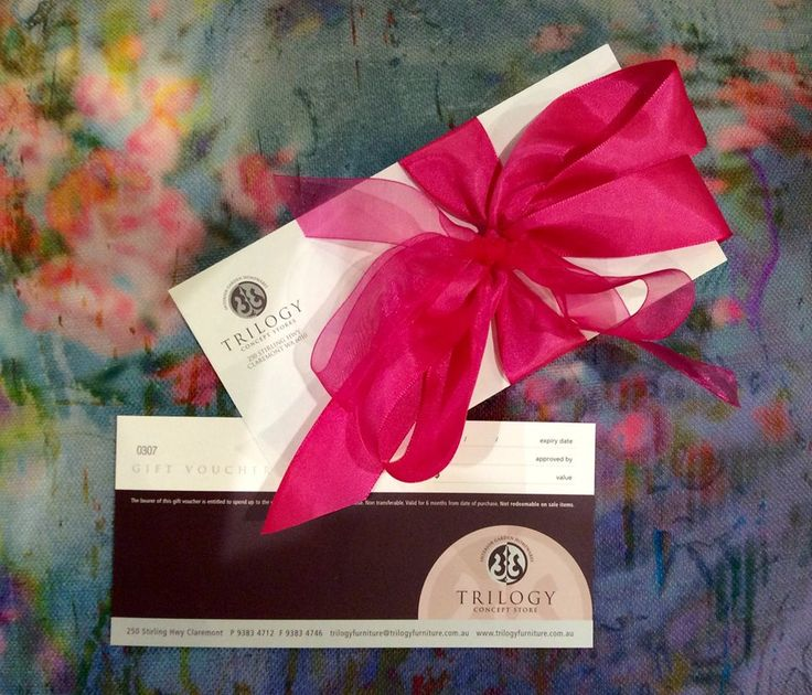GIVING   Looking for the perfect gift this Christmas? Trilogy's gift vouchers can be ordered over the phone for any amount and we can also post them for you if required.  Visit 250 Stirling Hwy, Claremont OR call (08) 9383 4712