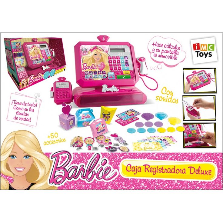 Juguete BARBIE CAJA REGISTRADORA DE LUXE Precio 33,88€ en IguMagazine #juguetesbaratos