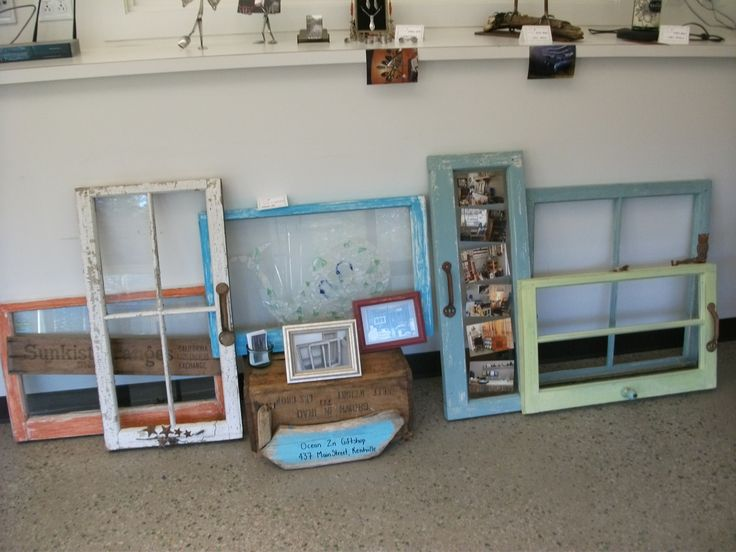 Glass art made from windows purchased at our Reuse Centre. Entry Submitted by of Ocean Zn