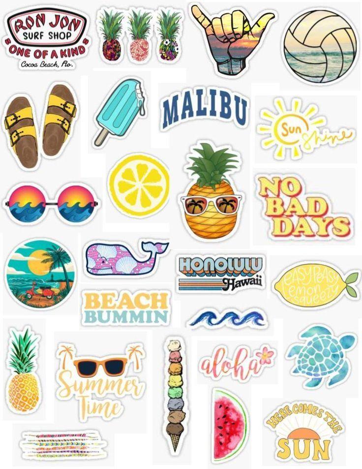 Sommer-Aufkleber – Phone ❤️ – #Phone #SommerAu…