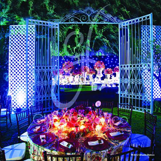 Wedding Design Ideas - Weddings 'R' Us By Ghada Blanco #Lebanon http://www.myfarah.com/vendors/wedding-planning/lebanon/weddings-r-us