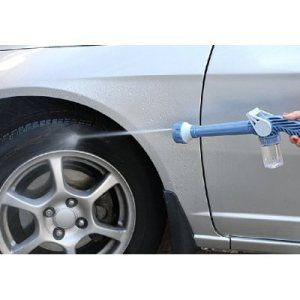 water cannon - car spray