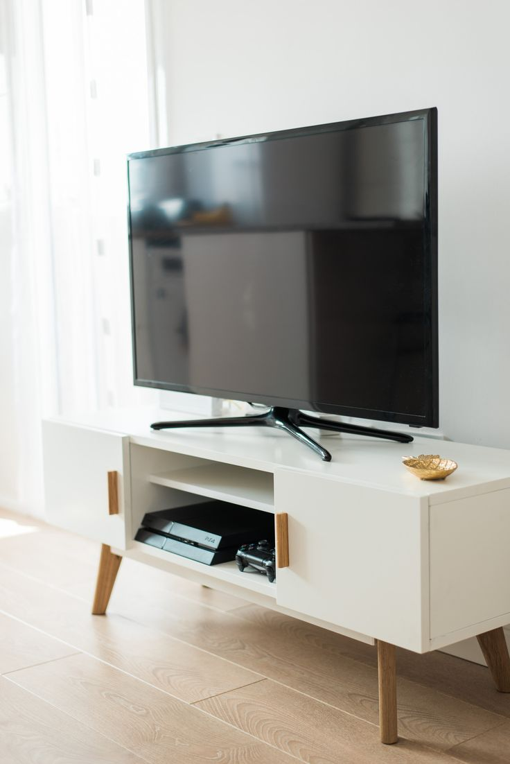 the  best modern tv units ideas on pinterest  tv on wall ideas  - scandinavian style white tv unit scandinavian home furniture httpabreo