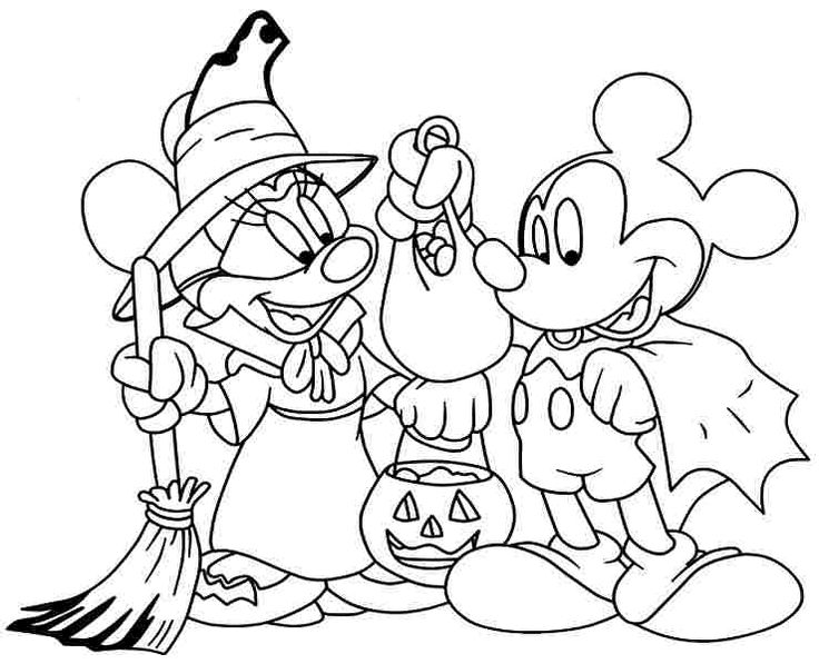 Coloring Pages Cartoon Disney Minnie Mouse Printable Free For Boys Amp Girls