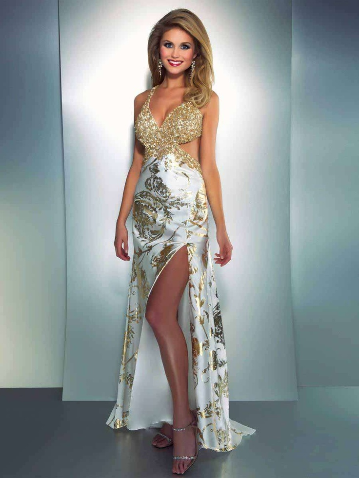 Amazing Gold Dresses Prom Illustration - Wedding Dresses and Gowns ...