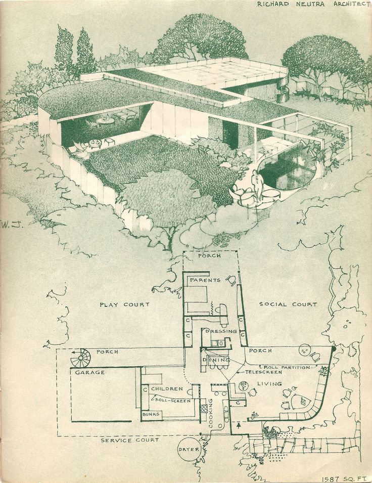 1000 Images About Retro House Plans Amp Designs On Pinterest