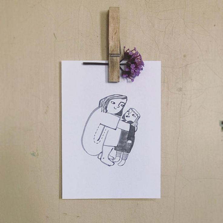Me and MiniMe. ❤️ #MiniMe #rebelgirl #illustration #illustrations #mitliebegemacht