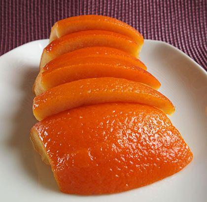 Πορτοκαλόφλουδες γλασέ