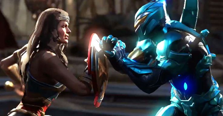 """SDCC: """"Injustice 2"""" Trailer Pits Wonder Woman Against Blue Beetle - WB Games has debuted a new trailer that focuses on the upcoming…"""